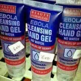 EBOLA Cleansing Hand Gel On Sale In Nigeria [PHOTO]